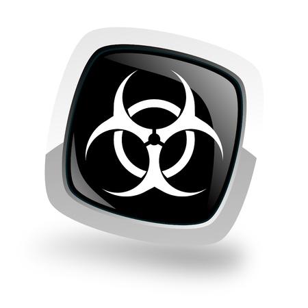 warez: bio hazard icon Stock Photo