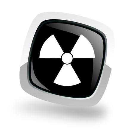 radiation icon Stock Photo - 13762456