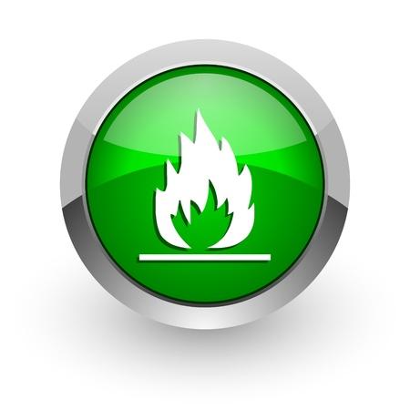 flames icon photo