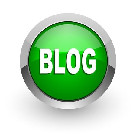 blog icon Stock Photo - 14471648