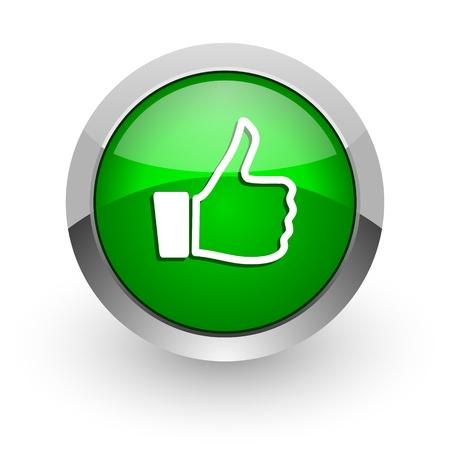 thumb up icon Stock Photo - 14471657