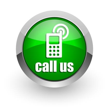 call us icon Stock Photo - 14471698