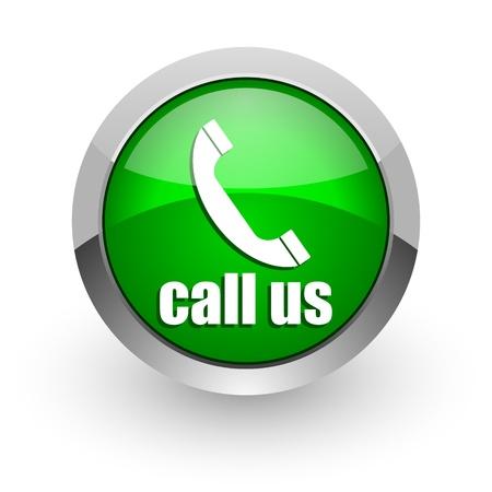 call us icon Stock Photo - 14471681