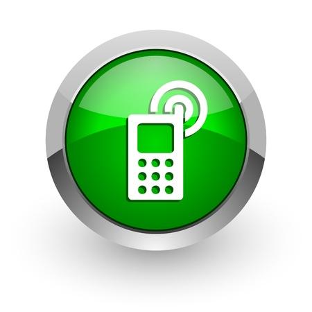 cellphone icon Stock Photo - 14471672