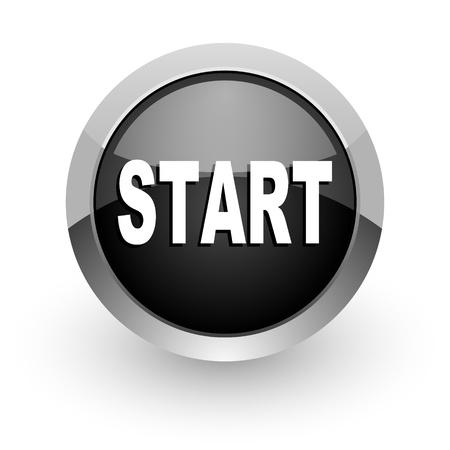 start button: start icon