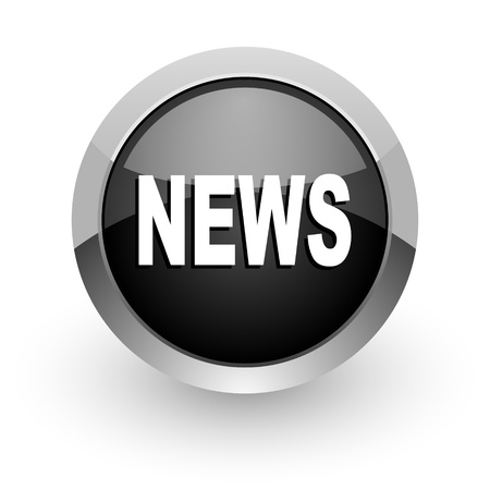 icone news: Nouvelles ic�ne Banque d'images