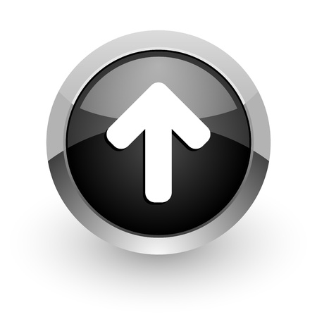 arrow top icon Stock Photo - 14553315