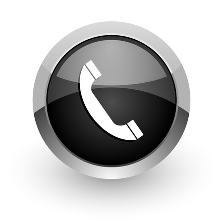 telephone icon Stock Photo - 14553378
