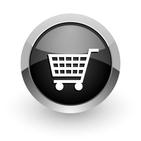 carrinho: carrinho de compras �cone Banco de Imagens