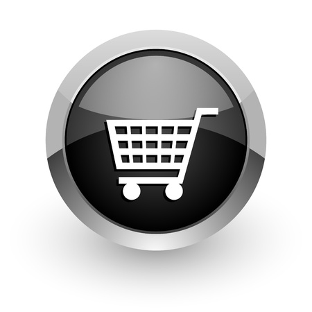 round icons: shopping cart icon