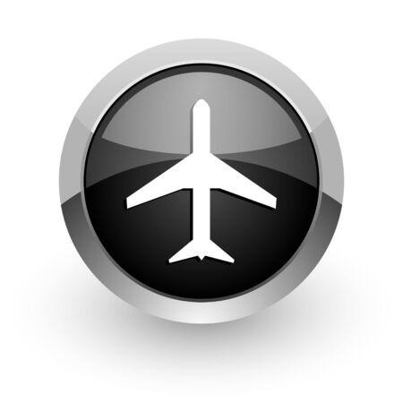 airplane icon Stock Photo - 14553376
