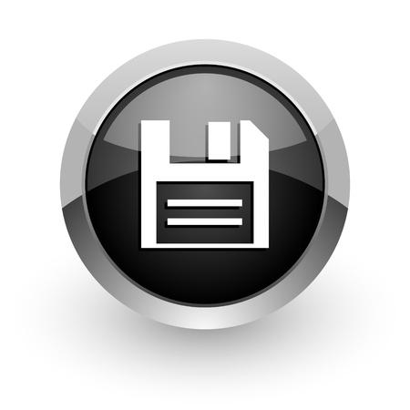 disk icon Stock Photo - 14553264