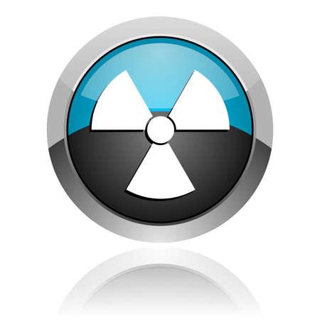 radiation icon Stock Photo - 14805223