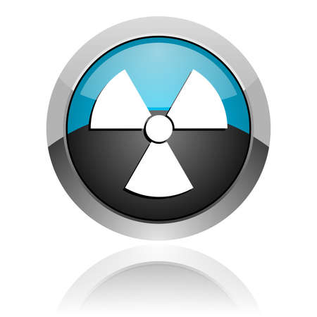 radiation icon Stock Photo - 14805223