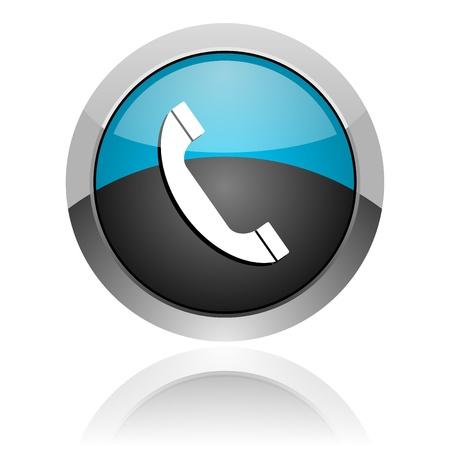 telephone icon Stock Photo - 14805283