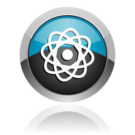 atom icon Stock Photo - 14805405
