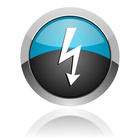 lightning icon photo