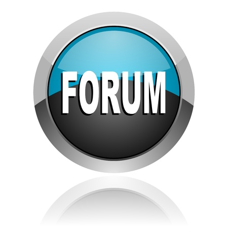 forum icon Stock Photo - 14805313
