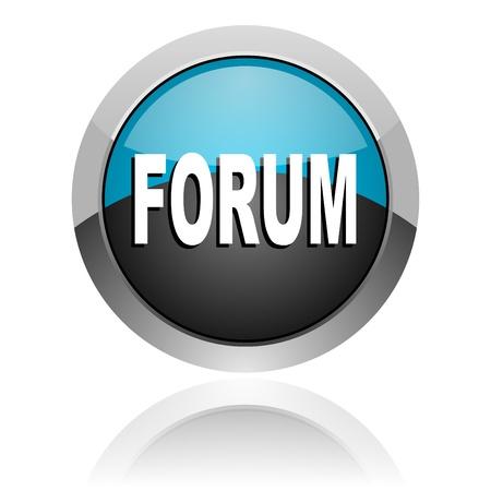 forum icon Stock Photo - 14805313