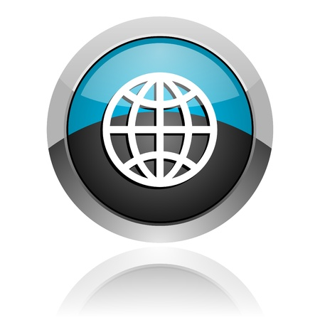 www icon: earth icon