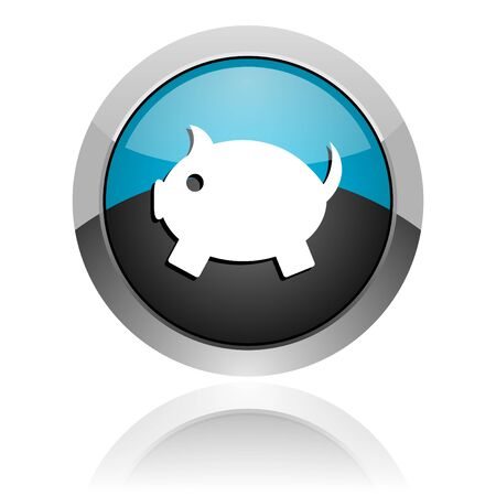piggy bank icon photo