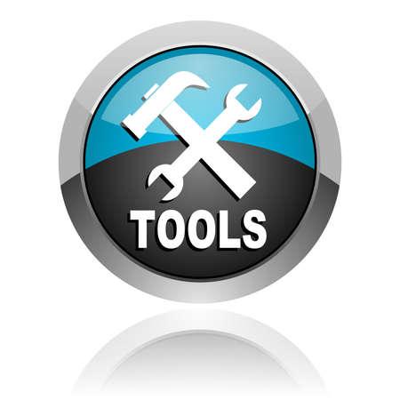 tools icon Stock Photo - 14805400