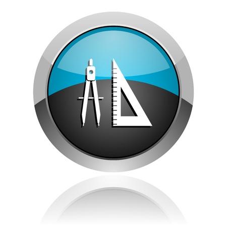 interface menu tool: e-learning icon