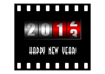 new years counter Stock Photo - 15177199