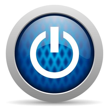 menu button: power icon