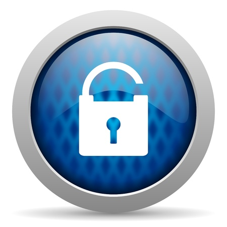 padlock icon Stock Photo - 15308568