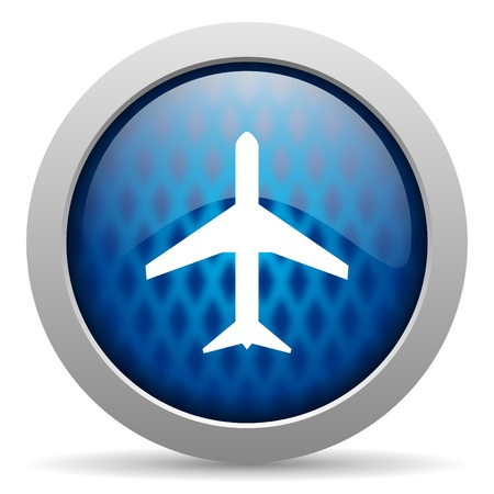 airplane icon Stock Photo - 15308503