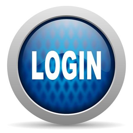 login icon Stock Photo - 15308512