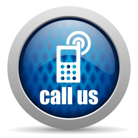 call us icon Stock Photo - 15306839