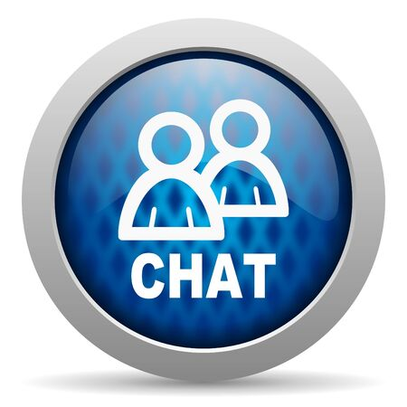 chat icon Stock Photo - 15308019