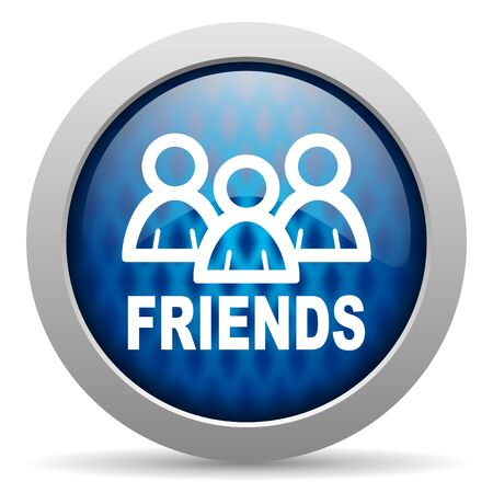 friends icon Stock Photo - 15307081