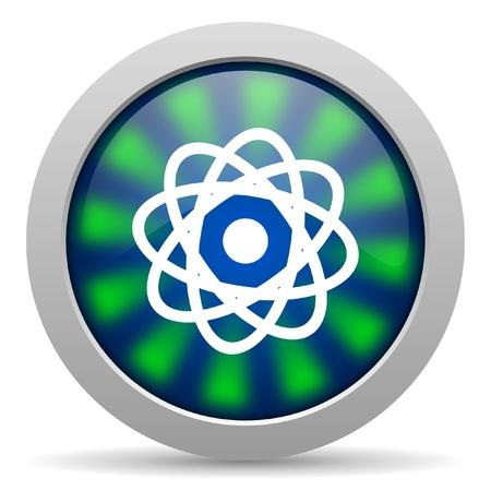 atom icon Stock Photo - 15417059