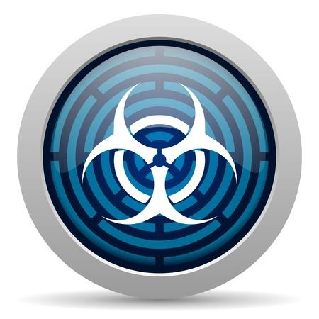 virus icon Stock Photo - 15418048