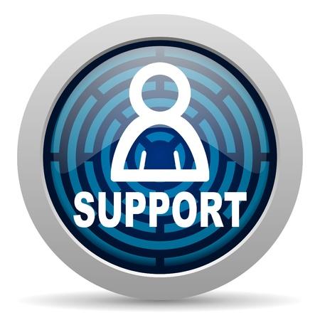 web service: apoyo icono