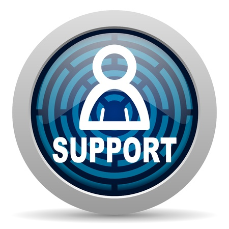 customer service phone: support icon