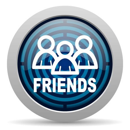 friends icon Stock Photo - 15418049
