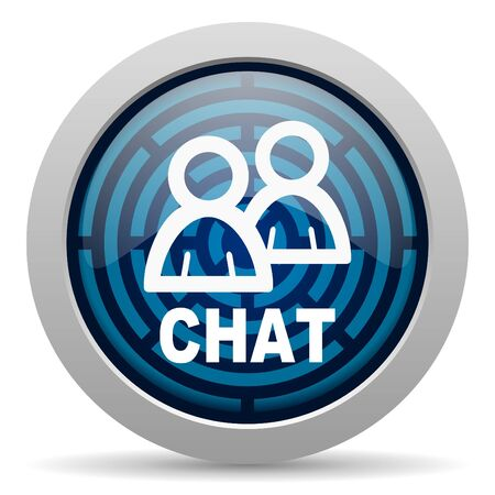 chat icon Stock Photo - 15418023