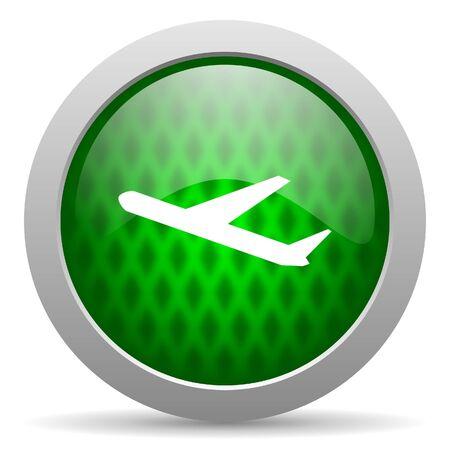 plane icon Stock Photo - 15417411