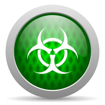 virus icon Stock Photo - 15417644