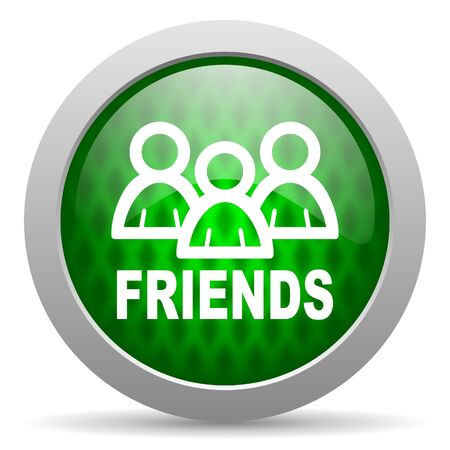 friends icon Stock Photo - 15417621