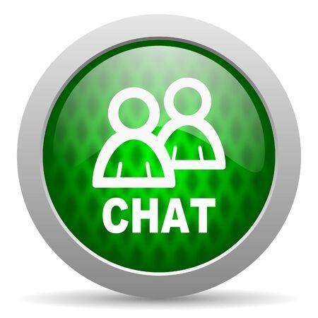 chat icon Stock Photo - 15417575