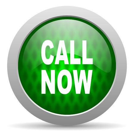 call now icon Stock Photo - 15417582
