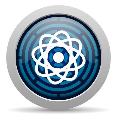 atom icon Stock Photo - 15418050