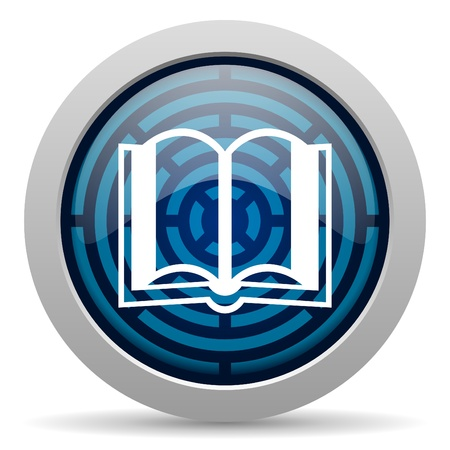book icon Stock Photo - 15418027