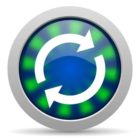 reload: reload icon Stock Photo