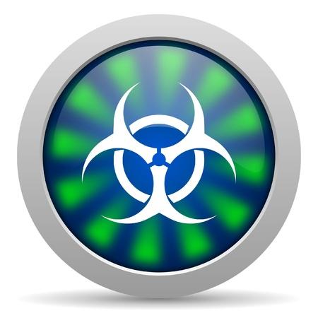 varez: virus icon Stock Photo
